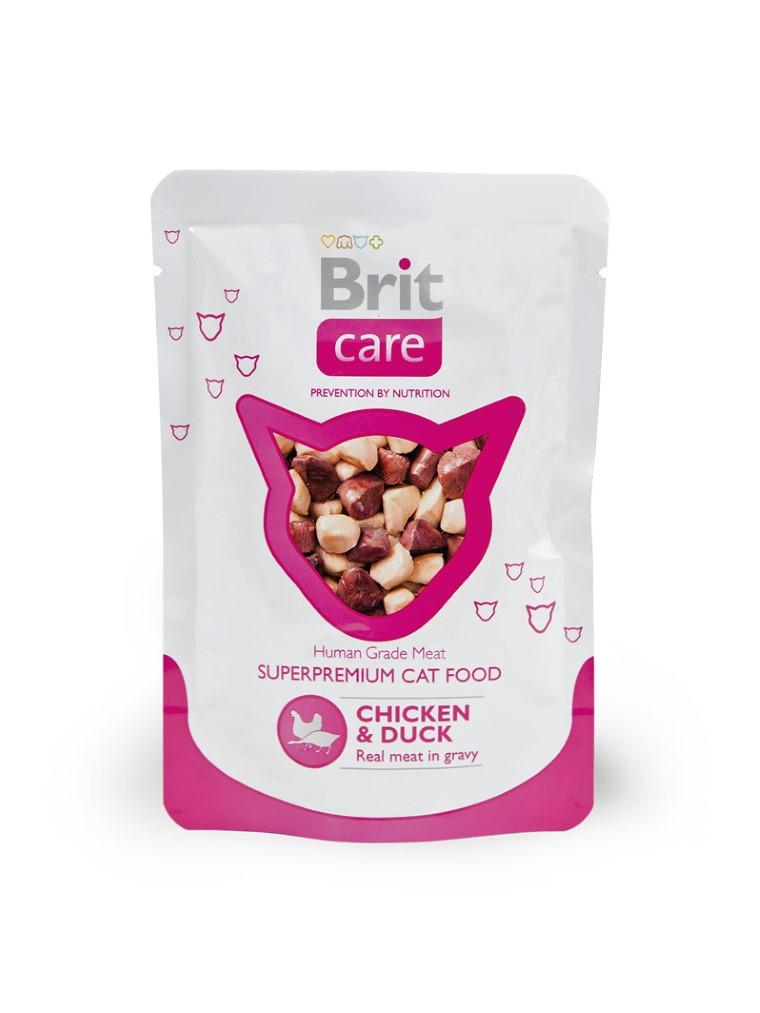 Boîte Chat - Brit Care Sachet Poulet et Canard 413932