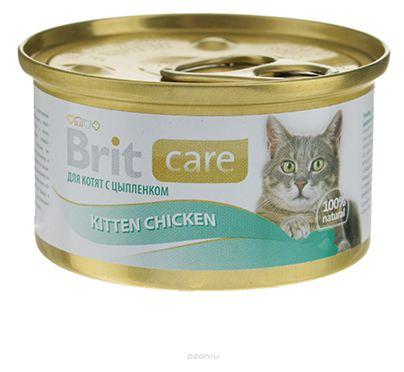 Boîte Chaton - Brit Care Poulet pour Chaton 413945