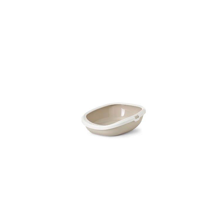 Bac à litière Gizmo coloris beige - taille medium 415005