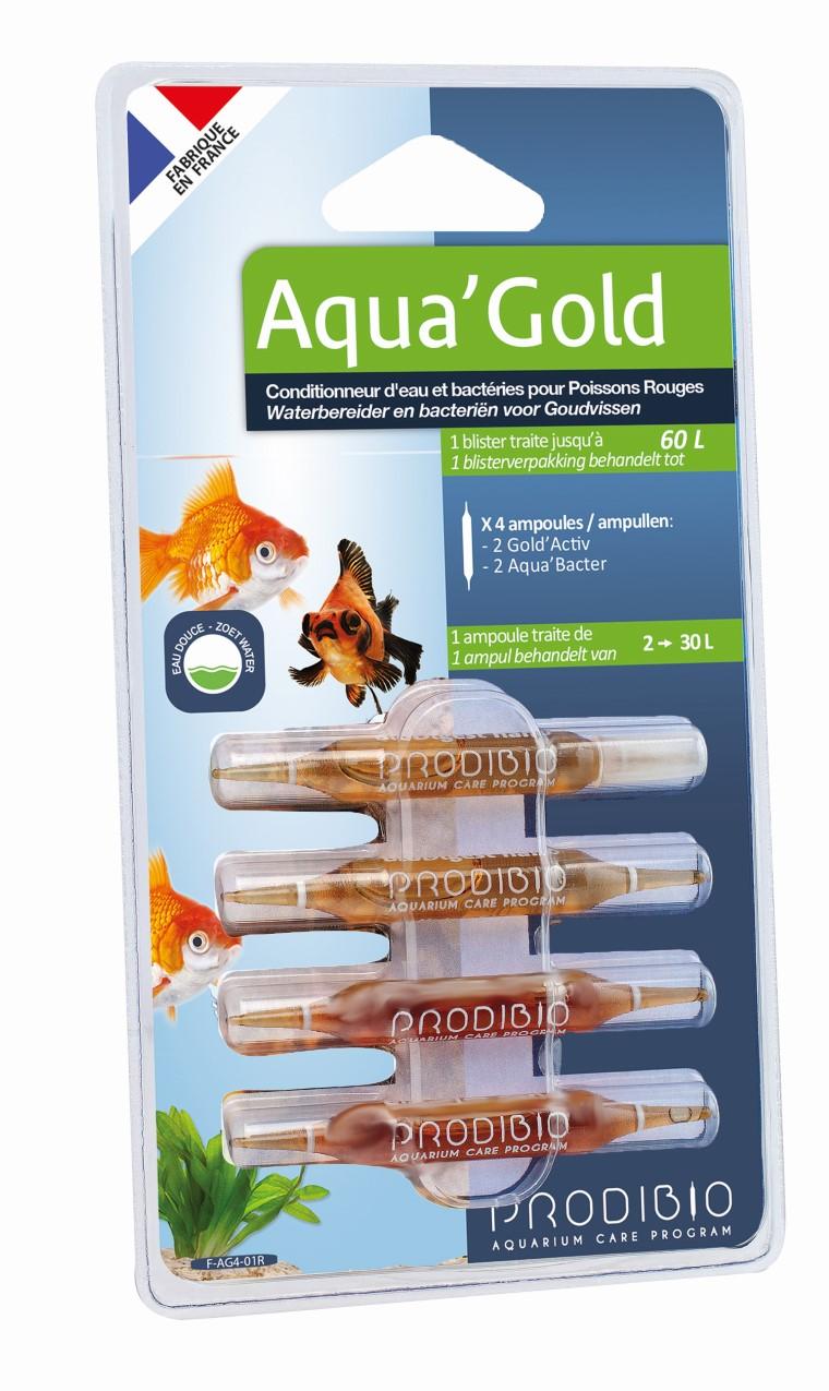 Traitement de l'eau - Prodibio Aqua'gold nano - 4 Ampoules 415313