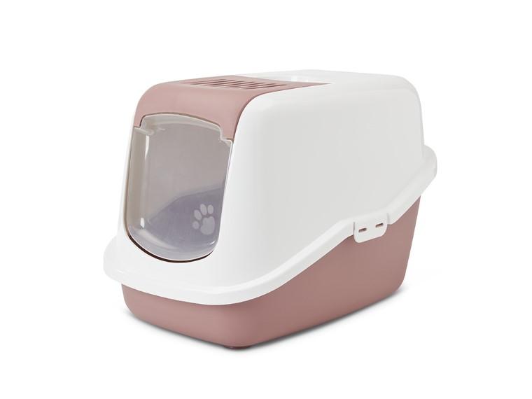 Maison de toilette pour chat Nestor Cachemire Rose 415401