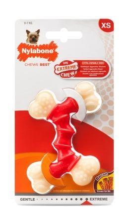 Jouet Chien - Nylabone Double Bones XS 415554
