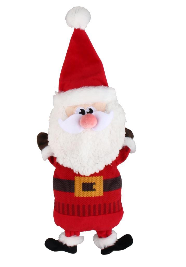 Peluche sonore chien - Père Noël 418404