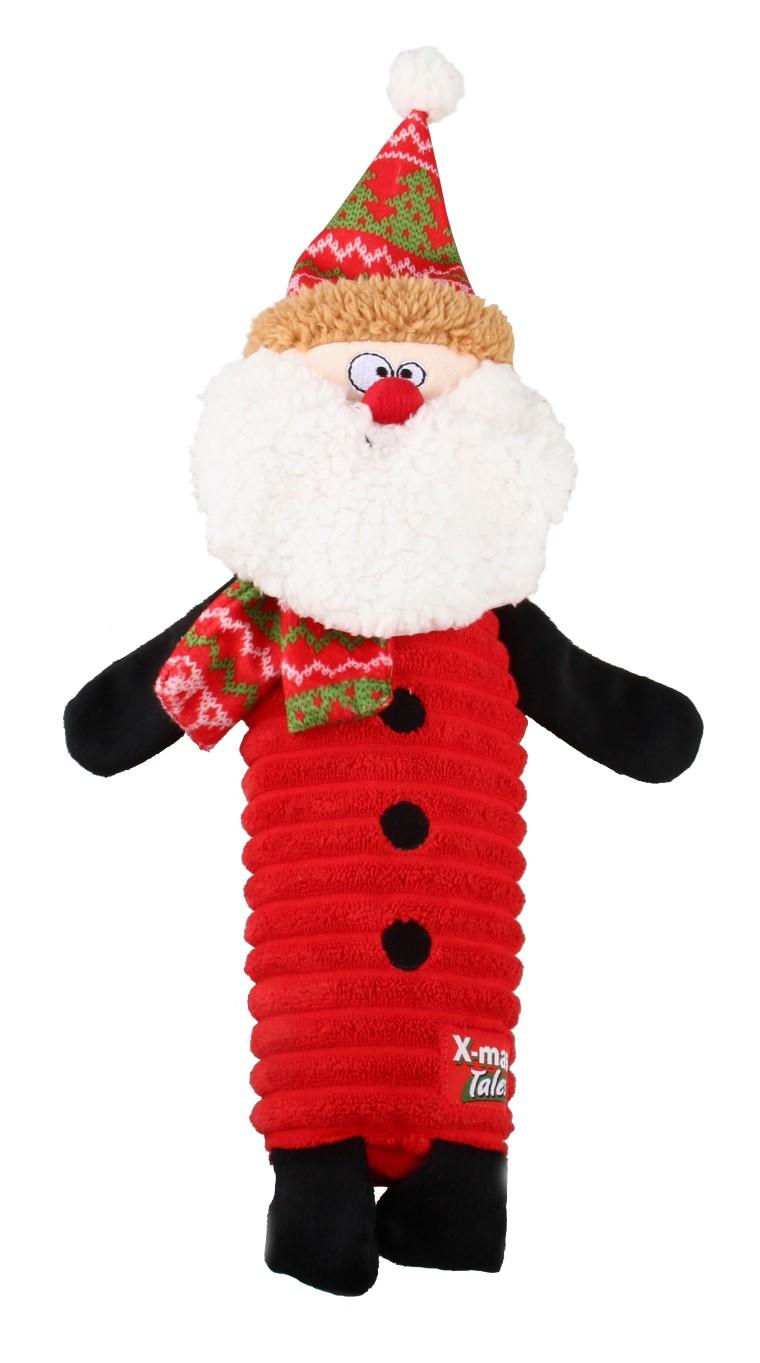 Jouet Chien Bouteille Père Noël 418410