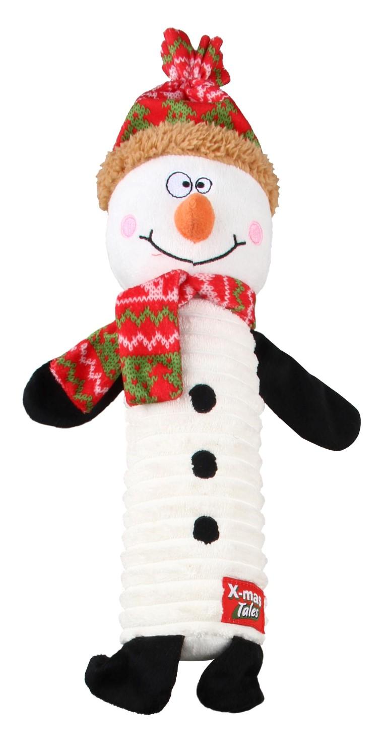 Jouet de Noël Chien - Bouteille Bonhomme de neige 418411
