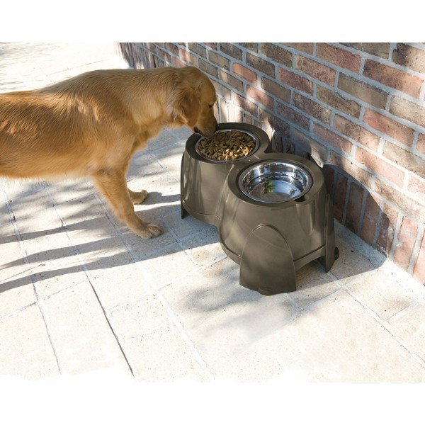 Gamelle double pour chiens Savic 425632