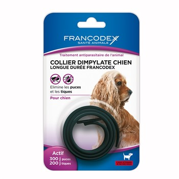 Collier antiparasitaire chiens Francodex 438032