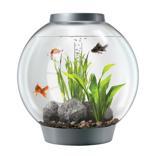 Aquarium BiOrb 60 L silver LED 441456