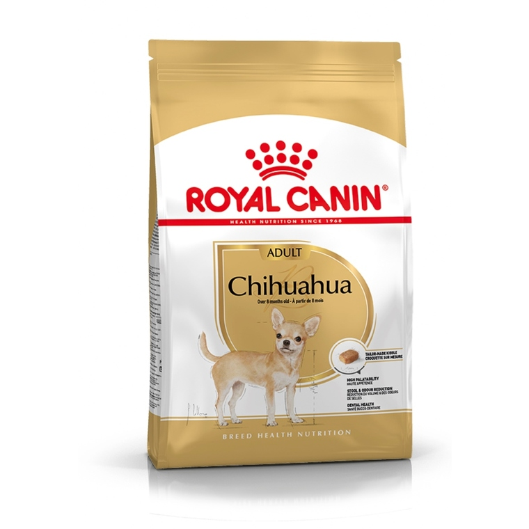 Croquette chien Royal Canin Chihuahua adulte 1,5kg 452822