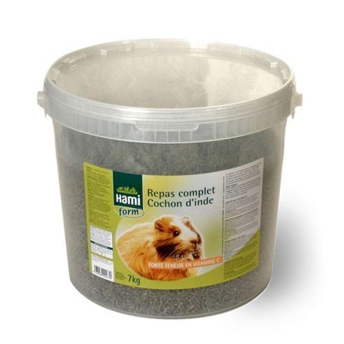 Repas complet cochon d'inde poils longs Hamiform® 7kg 474840