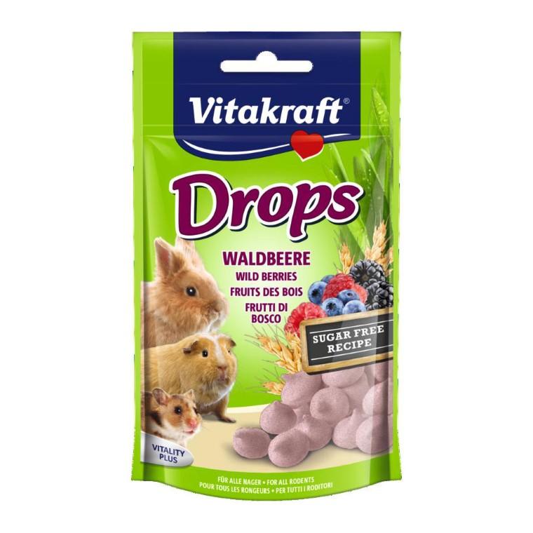Drops Lapins nains fruits des bois Vitakraft® 75g 483521