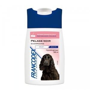 Shampooing 200ml pour chiens pelage noir 488444