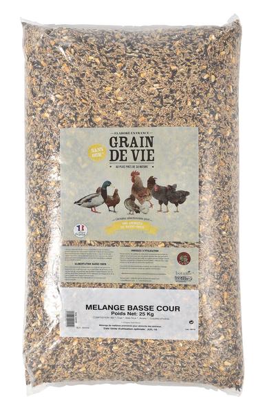 Mélange de céréales Basse cour 25kg 48994