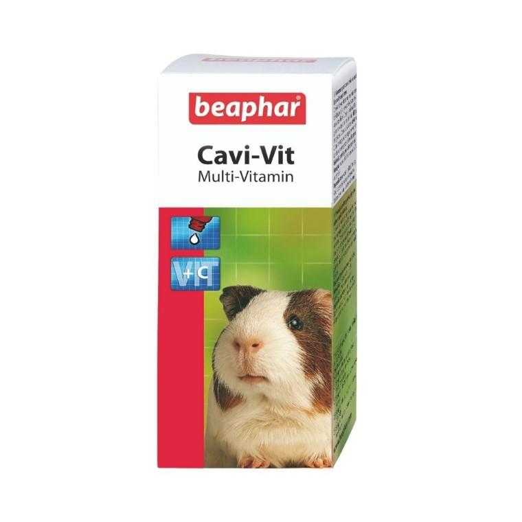 Vitamines C et E petits mammifères Beaphar - 50 ml 495028