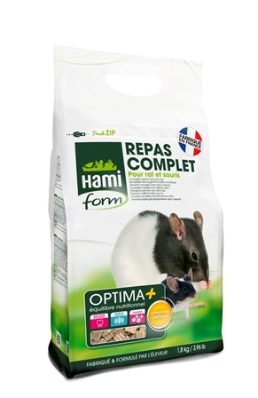 Repas premium rat et souris Hamiform 1.8kg 495415