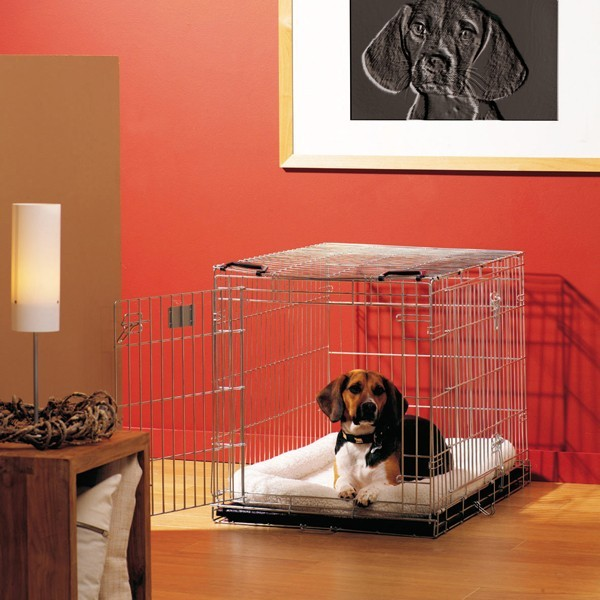 Cage transport chien Dog Residence 76cm Savic 495765