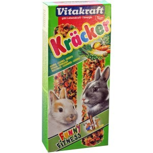Kräcker aux légumes Lapins x2 Vitakraft® 110g