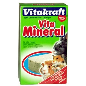 Bloc minéral pour rongeurs Vitakraft® 168g