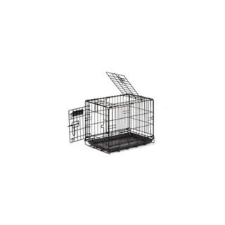 Cage de transport chien 50 cm noir 51395