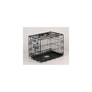 Cage de transport chien 78 cm noir 51414