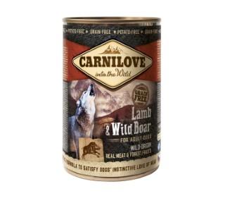 Boîte Chien - Carnilove Wild Meat Agneau & Sanglier 527981