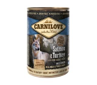 Boîte Chien - Carnilove Wild Meat Salmon & Turkey 527982