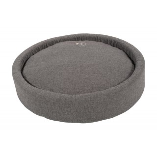 Coussin rond Milano gris - Taille 70 cm 535965