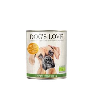 Boîte Chien – Dog's Love bio Dinde 800 gr 536005