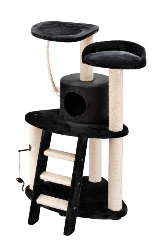 Arbre a chat catar Noir 131 cm 557021