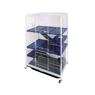 Cage tower XL pour petits rongeurs 557794