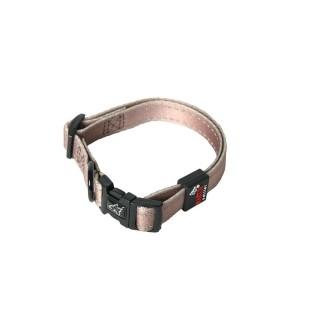 Collier chien réglable 20mm / 40-55cm beige 558339