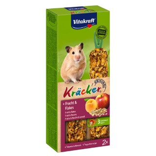 Kräcker fruits Hamsters x2 Vitakraft® 116g 56918