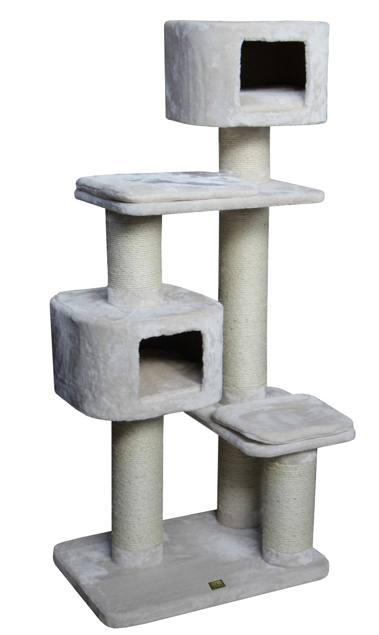 Arbre a chat Rock Western Inn beige 528304