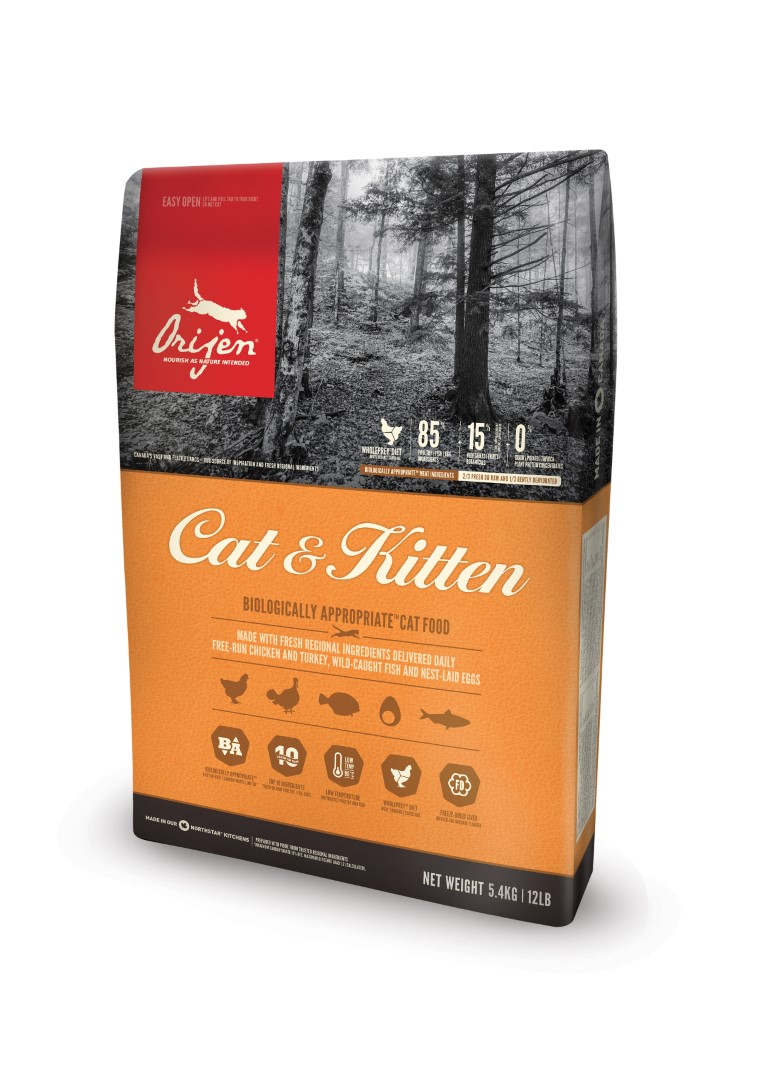 Croquettes Chat - Orijen® cat & kitten 0,34kg 534123