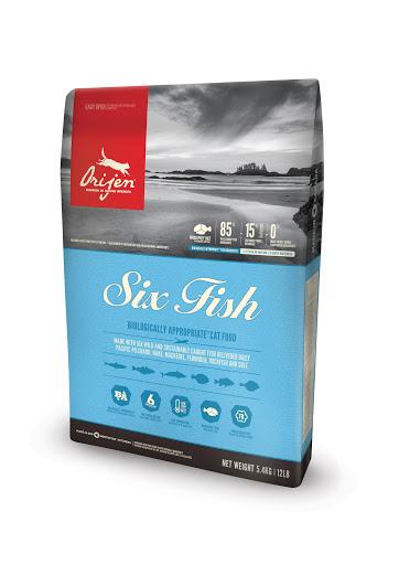 Croquettes Chat - Orijen® cat 6-fish  5,4kg 534126