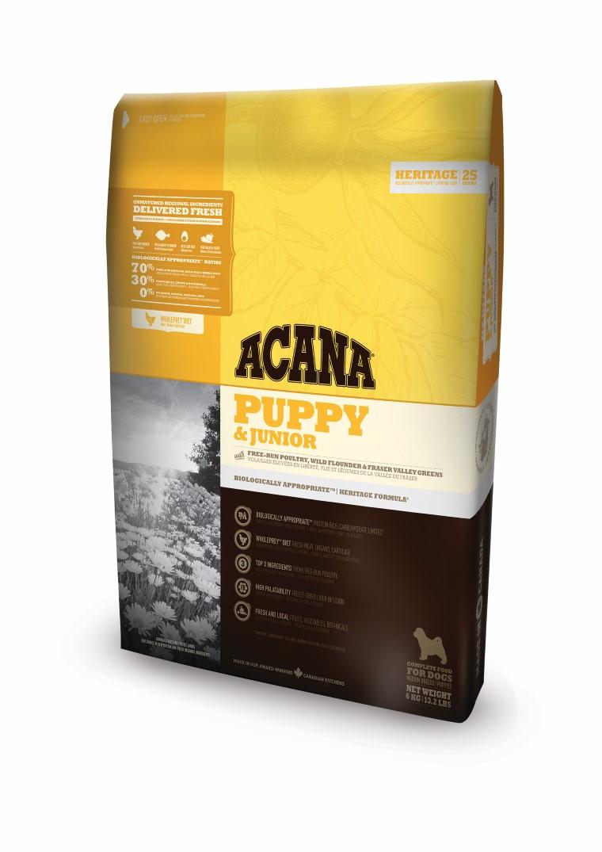 Croquettes Chiot medium - Acana Heritage Puppy & junior 11,4kg 534138