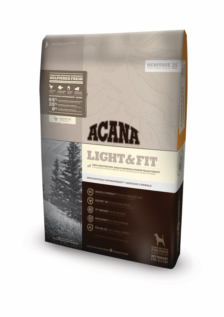 Croquettes Chien Adulte - Acana Heritage Light & fit 11,4kg 534145