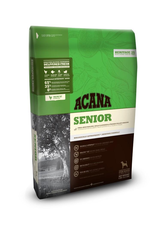 Croquettes Chien Senior - Acana® Heritage Senior 2kg 534146