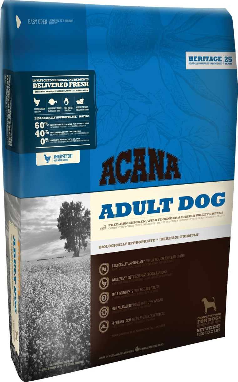 Croquettes Chien Adulte - Acana® Heritage Adult dog 2kg 534149