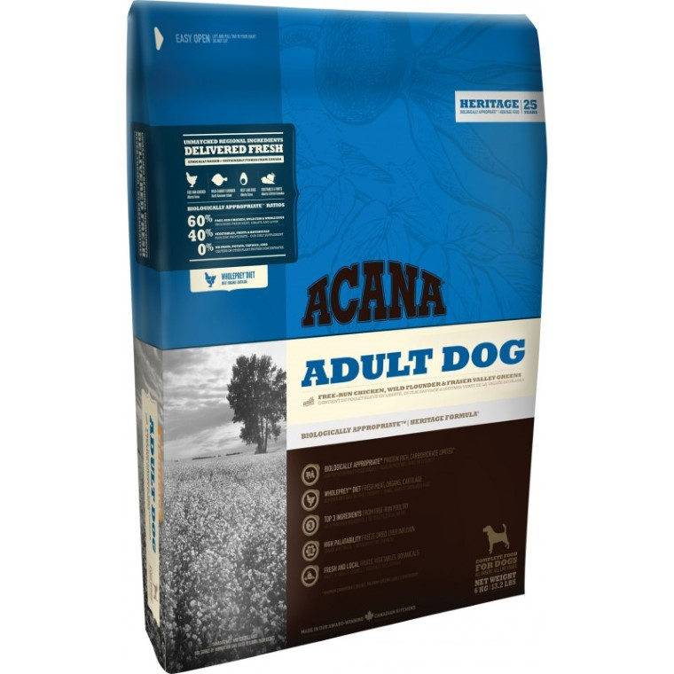 Croquettes Chien Adulte - Acana Heritage Adult dog  6kg 534150
