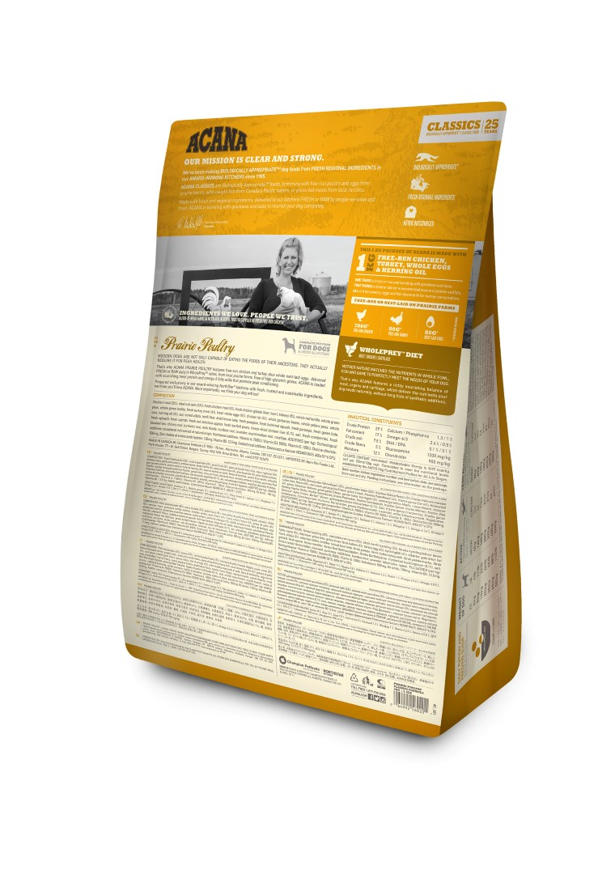 Croquettes Chien - Acana® Prairie poultry  6kg 534155