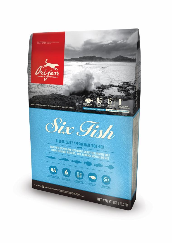 Croquettes Chien - Orijen® adult 6 fish  11,4kg 534167