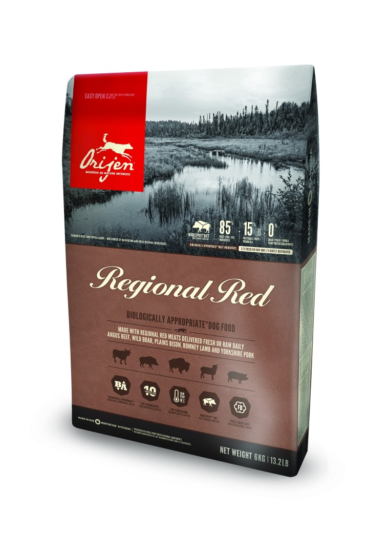 Croquettes Chien - Orijen Regional red 2kg 534168