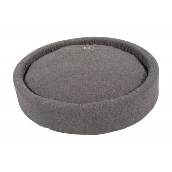 Coussin rond Milano gris - Taille 50 cm 535962