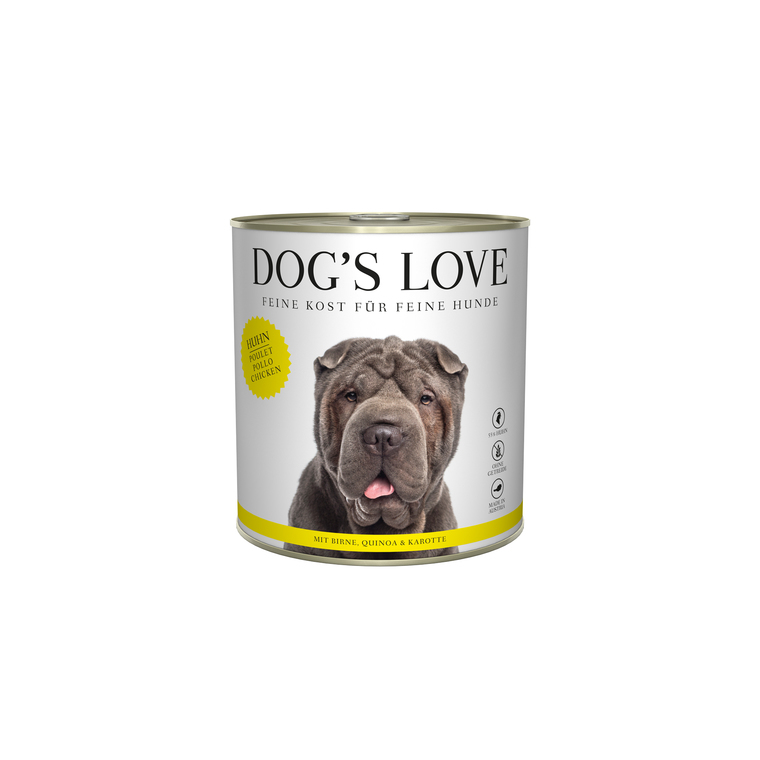 Boîte Naturelle Chien – Dog's Love Poulet 800 gr 535996