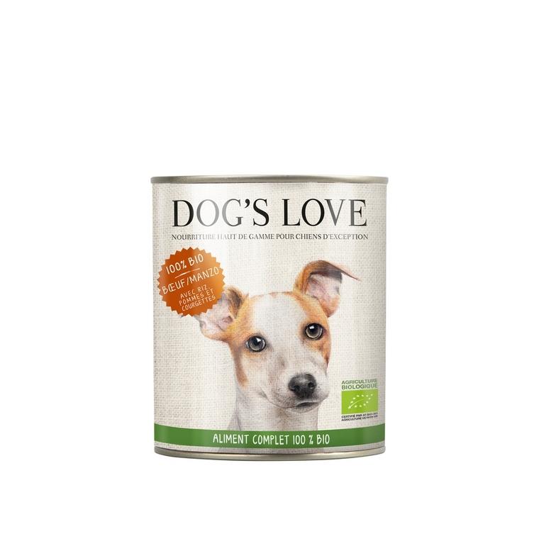 Boîte Chien – Dog's Love bio Bœuf 200 gr 535997