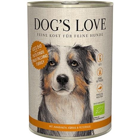 Boîte Chien – Dog's Love bio Dinde 400 gr 536002