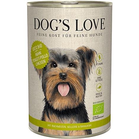 Boîte Chien – Dog's Love bio Poulet 400 gr 536003
