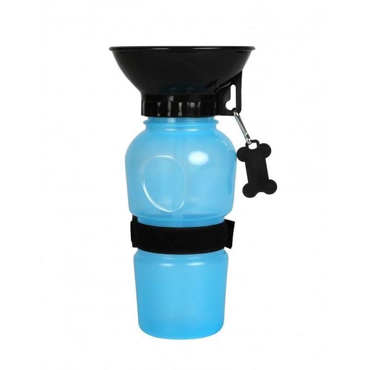 Gourde avec bol intégré Bleu- 500ml 536071