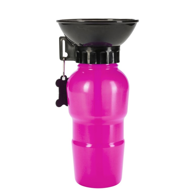 Gourde avec bol intégré Rose - 500ml 536072